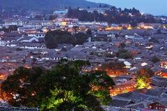 Gammal Town av Lijiang Royaltyfri Foto