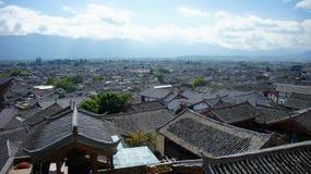 Gammal Town av Lijiang Royaltyfri Bild