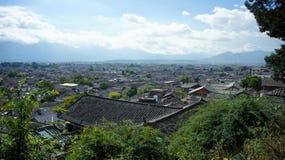 Gammal Town av Lijiang Fotografering för Bildbyråer