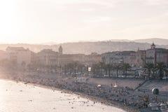 Gammal town av Nice, Frankrike Fotografering för Bildbyråer