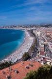 Gammal town av Nice, Frankrike Arkivbild