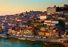 Gammal town av Porto, Portugal royaltyfri fotografi