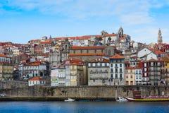 Gammal town av Porto, Portugal fotografering för bildbyråer