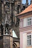 Gammal town av Prague royaltyfria bilder