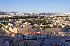 Gammal town av Rhodes Royaltyfri Fotografi