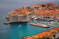 Gammal Town Dubrovnik Arkivfoto
