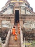 gammal town för ayutthaya Arkivfoto