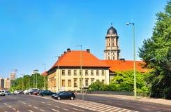 gammal town för berlin korridor fotografering för bildbyråer