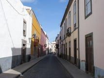 gammal town för canaria gran Arkivbild