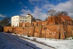 gammal town för grudziadz Arkivfoto