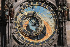 gammal town för klockakorridor Royaltyfri Bild