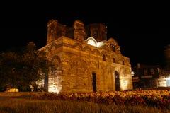 gammal town för natt Royaltyfri Fotografi