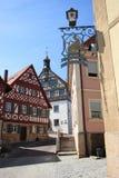 gammal town för ram Arkivfoton