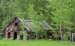 gammal town för spökehus Arkivbild