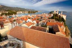 gammal town för cityscape Arkivbild