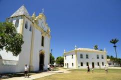 Gammal town i Porto Seguro Fotografering för Bildbyråer