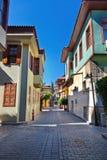 Gammal town Kaleici i Antalya Turkiet Royaltyfri Bild