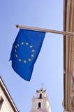 gammal town vilnius för Europa flagga Royaltyfri Fotografi