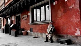 gammal town warsaw Royaltyfri Foto
