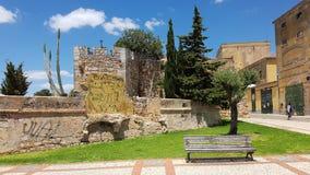 Gammal townarkitektur Royaltyfria Foton