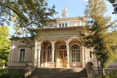 Gammal townhouse Royaltyfria Bilder