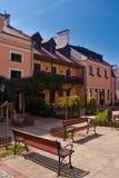 gammal townzamosc för stad Arkivbilder