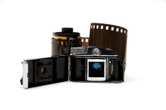 gammal toy för kamera arkivbilder