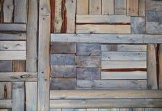 Gammal träbakgrund Fotografering för Bildbyråer