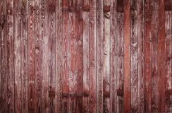 Gammal träbakgrund för plankor för stakettexturstaket royaltyfria bilder
