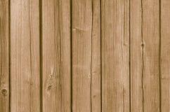 Gammal träbakgrund med vertikala bräden Royaltyfri Fotografi