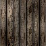 Gammal träbakgrundsvektorillustration Vektor Illustrationer
