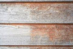 Gammal träbrädetextur Arkivbild