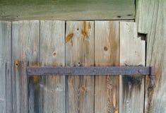 Gammal trädörr Fotografering för Bildbyråer