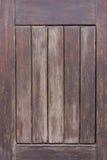 Gammal trädörrpanel royaltyfri bild
