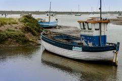 Gammal träfiskebåt Royaltyfri Fotografi