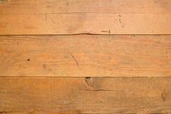 Gammal trägolvtexturbakgrund Arkivbilder