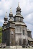 Gammal träkyrka för George ` s Fotografering för Bildbyråer