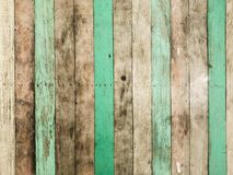 Gammal träpanellodlinje för tappning Arkivfoto