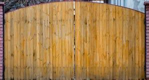 Gammal träport med dörrslut upp retro design Royaltyfri Fotografi