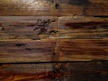 Gammal träslatsbakgrund arkivfoto