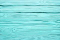 Gammal trätabell, blå yttersida av målat trä Antik textur, fotografering för bildbyråer