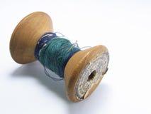 Gammal trätråd Arkivbild