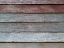 Gammal träväggbackground&texture Royaltyfria Bilder