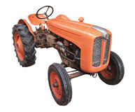 gammal traktor Royaltyfri Fotografi