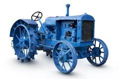 Gammal traktor Royaltyfri Foto
