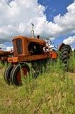 Gammal traktor för WC Allis Chalmers Royaltyfria Bilder
