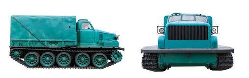 Gammal traktorenhet Arkivbild