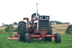 gammal traktortappning Royaltyfria Foton