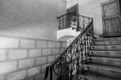 gammal trappa Arkivbild