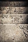 Gammal trappa av stenen Royaltyfri Bild